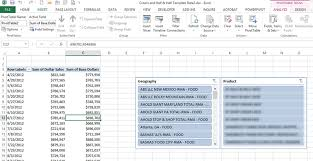 Excel Pivot Table Template Excel 2010 2013 Data Slicers Taking Pivot Tables To A Level