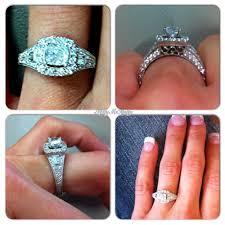 glamorous neil lane rings at kays jewelers my vintage cushion cut halo engagement ring by neil lane i love
