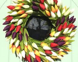 Tulip Wreath Thebigdoorwreathcomp