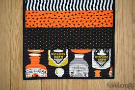 halloween table runner pattern halloween series u2013 spooky table runner u2013 modern handcraft