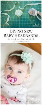 how to make headband bows diy no sew baby flower headbands chart babies and flower headbands