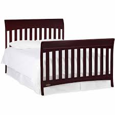 How To Convert Crib To Bed Graco Rory 5 In 1 Convertible Crib Espresso Walmart