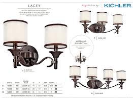 kichler lighting catalog kichler 45282ap antique pewter lacey 14