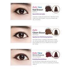 light brown gel eyeliner pencil gel liner cocomo
