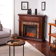 Infrared Electric Fireplaces by Ridgecrest Infrared Electric Fireplace With Marble