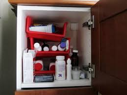 Cabinet Organizers Bathroom - bathroom theelmlife medicinecabinet before bathroom cabinet