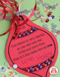 kindergarten christmas gift ideas parents ornament and students