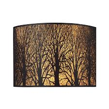 Yellow Wall Sconce Shop Westmore Lighting 11 In W 1 Light Aged Bronze Pocket Wall