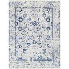 Gray And Blue Area Rug Silk Rugs You U0027ll Love Wayfair