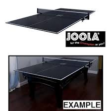 joola conversion table tennis top new joola conversion table top 135454102 foam backing net