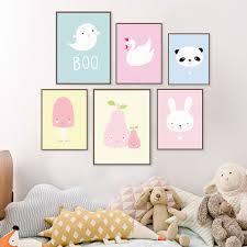 aliexpress com buy kawaii animal panda poster print a4 modern