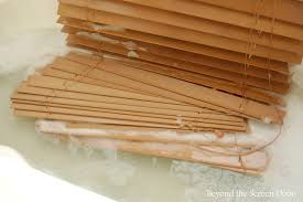 what is the best way to clean wooden cabinets a slightly unorthodox method for cleaning faux wood blinds