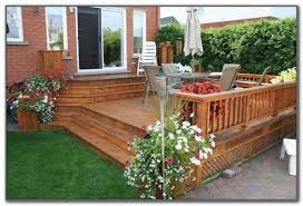 patio and deck ideas for small backyards decks home decorating