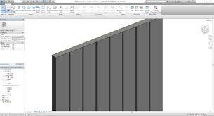 Revit Curtain Panel Custom Curtain Wall Profile Repeat Autodesk Community