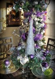 Christmas Table Decoration Purple by Delicious Holiday Tablescapes Centerpieces Pictures And