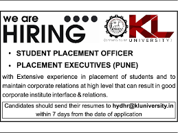 resume sles for engineering students fresherslive recruitment jobs in k l university vacancies in k l university opportunities
