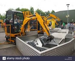 jcb jcb for children jcb a father and child on the jcb digger challenge attraction at