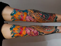 water lilies japanese tattoo sleeve best tattoo ideas gallery