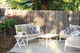 domestic fashionista creating cozy outdoor seating areas