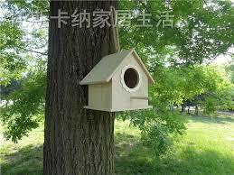 20 5x16x19cm outdoor wooden nest box bird house sparrow