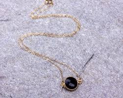 black stone pendant necklace images Black onyx necklace onyx necklace black stone necklace jpg