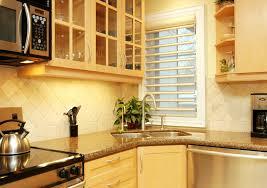 Kitchen Sink Light Fixtures Corner Kitchen Sink Kitchen Contemporary With Custom Cabinetry