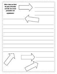 friendly letter template vocabulary worksheets by vanessa crown