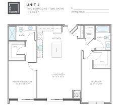 2 Bed 2 Bath Floor Plans by Bozzuto