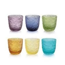 bicchieri ivv ivv multicolor set 6 bicchieri acqua vetro colorati assortiti ivv