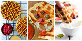 19 of the most delicious things you can make in a waffle iron that