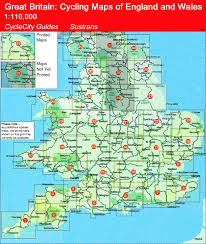 Somerset England Map Somerset Levels 110k Sustranns Cycle Map No 4 Stanfords