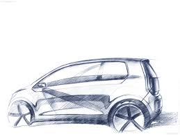 volkswagen drawing volkswagen e up concept 2009 pictures information u0026 specs