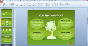 Home Design Templates Free Free Green Sustainability Powerpoint Template Free Powerpoint