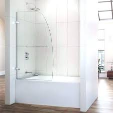 bathroom shower door ideas decoration sliding shower doors with bathtub and enclosures modern