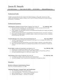 Free Easy Resume Template Resume Template 87 Astonishing 1 Page Word Format Pdf One In
