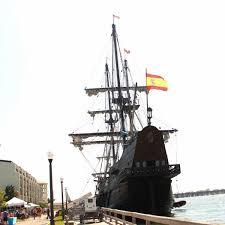 setting sail on el galeon
