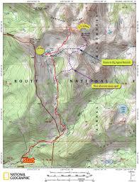 Colorado Lakes Map by Mica Lake Basin Medium Agnes Peak Mountainous Words