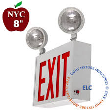bug eye exit lights new york city products exit light co