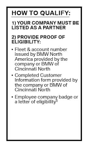 bmw employee lease program bmw of cincinnati bmw dealership in cincinnati oh 45246