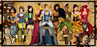 disney halloween background images disney princesses as punks superheros goths high girls