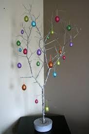 easter ornament tree diy easter egg trees happy easter 2017