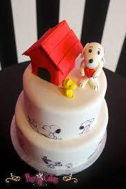 snoopy cakes birthday cake 2 tier snoopy edible images dog house boy girl pixy