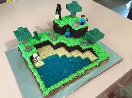 mindcraft cake just ali minecraft cake