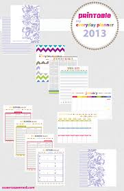 printable planner pages for 2015 printable 2013 planner sweet paper trail