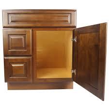 30 inch dark maple juniper chestnut bathroom vanity cabinet r
