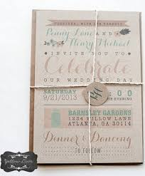 rustic chic wedding invitations 18 gorgeous rustic wedding invitations