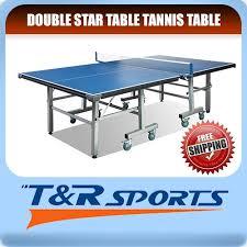 quality table tennis bats tournament quality 19mm top 30mm metal leg table tennis ping pong