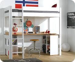 bureau 2 places lit mezzanine 2 places en bois amazing lit mezzanine ikea lit