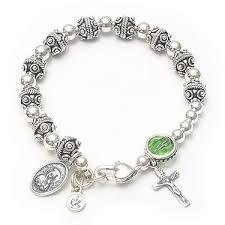 godmother bracelet godmother rosary bracelet silver ek designs jewelry