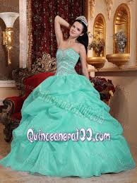 aqua green quinceanera dresses apple green organza dress for quinceanera with beading and ups